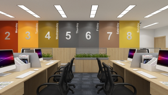 Thiết kế văn phòng Sheraton